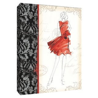 "PTM Images 9-154733  PTM Canvas Collection 10"" x 8"" - ""French Couture I"" Giclee Women Art Print on Canvas"