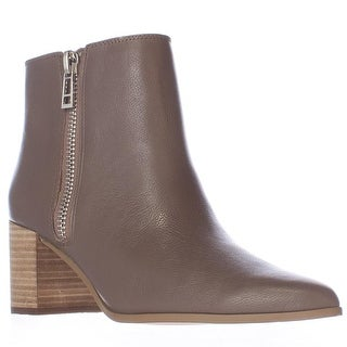 Charles by Charles David Uma Pointed Toe Booties - Dark Taupe