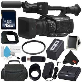 Panasonic AG-UX180 AG-UX180PJ 4K Premium Professional Camcorder Bundle