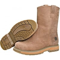 Muck Boot's Brown Wellie Men's Work Boot w/ Breathable Airmesh Lining -Size 11.5