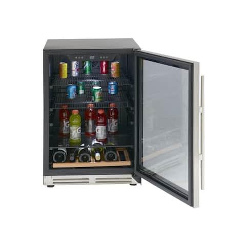 Avanti BCF54S3S 24 inch Designer Series Beverage Cooler - Stainless Steel