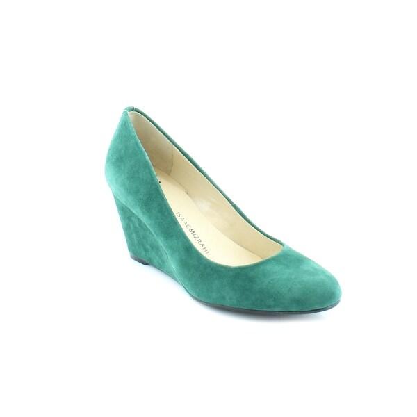 Isaac Mizrahi Live! Kendall Women's Heels Medium Green - 5.5