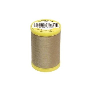 S970 8440 Coats All Purpose Cotton Thread 225yd Khaki