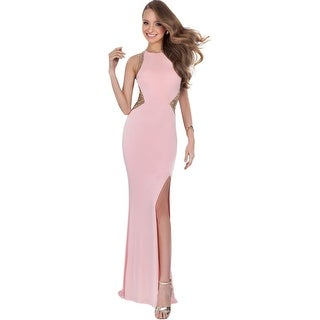 Terani Couture Fitted Prom Semi-Formal Dress