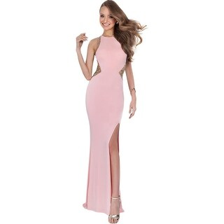 Terani Couture Fitted Sheath Semi-Formal Dress