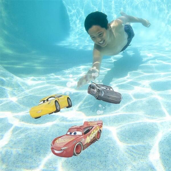 Shop Set Of 3 Disney Cars Mcqueen Storm And Cruz Dive Characters