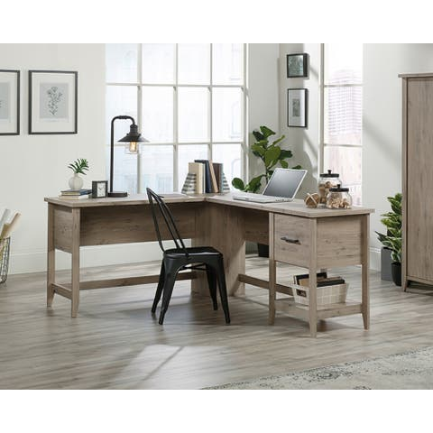 Sauder Summit Collection L-Shaped Office Desk