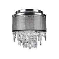 """Worldwide Lighting W3312512 Tempest 4 Light 12"""" Wide Flush Mount Ceiling Fixture"""