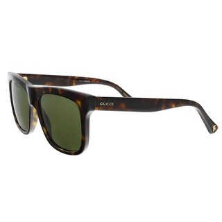 GUCCI GG0158S 002 Havana Square Sunglasses