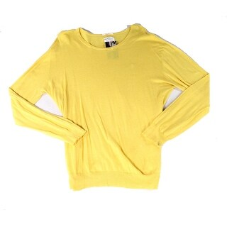 Gant Rugger NEW Yellow Mens Size XL Pull-Over Logo-Front Sweater