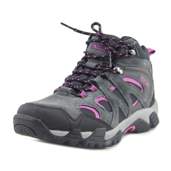 Pacific Trail Diller Women Round Toe Synthetic Gray Hiking Shoe