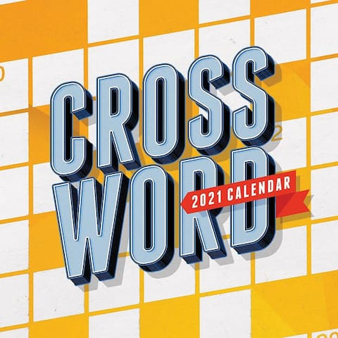2021 Crossword Puzzles Daily Desktop Calendar - 5.25x5.25