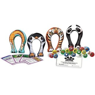 Dowling Magnets Horseshoe Magnet Friends Wildlife - Animal Magnetism