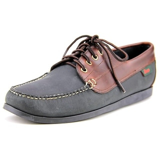 GH Bass & Co Sedona Women Moc Toe Leather Boat Shoe