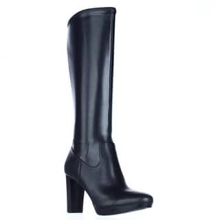 9a74a6b79e47 Nine West Women s Moretalknw Synthetic Knee High Boot · Quick View