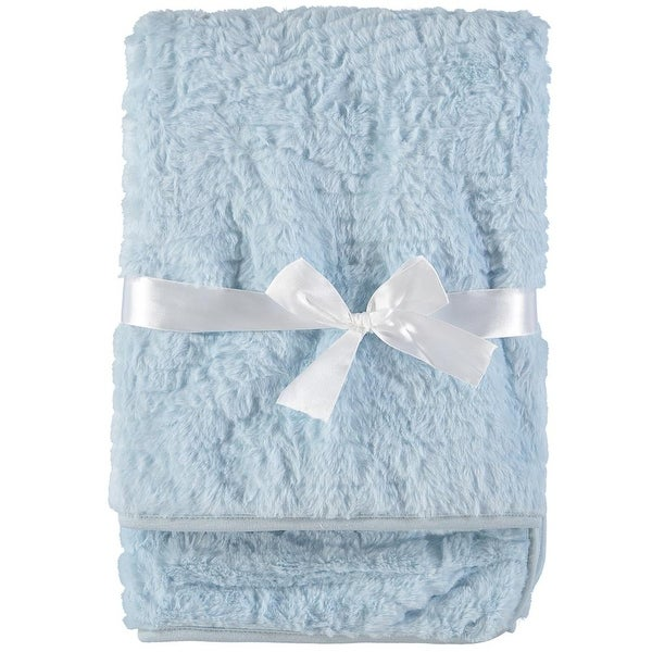 Baby Dove Baby Boys Faux Fur Blanket