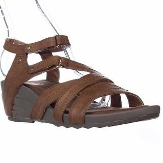 BareTraps Belina Wedge Sandals - Brush Brown