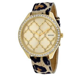 Guess Women's Dress W0579L5 Yellow Dial watch