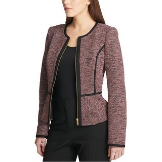 Link to DKNY Womens Peplum Jacket, red, 8 Similar Items in Women's Outerwear