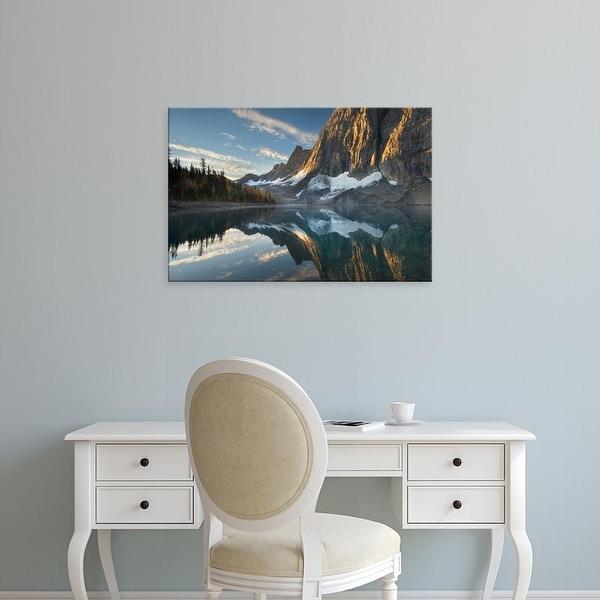Easy Art Prints Alan Majchrowicz's 'Floe Lake Reflection III' Premium Canvas Art