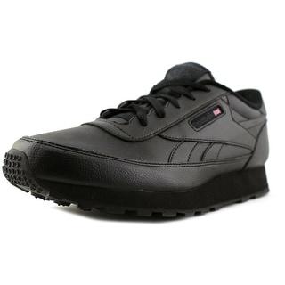 Reebok Cl Renaissance Gum D Round Toe Leather Sneakers