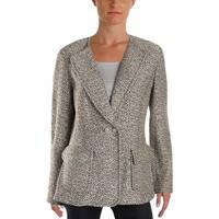 St. John Womens Aluna Tweed Jacket Work Wear Knit - 10