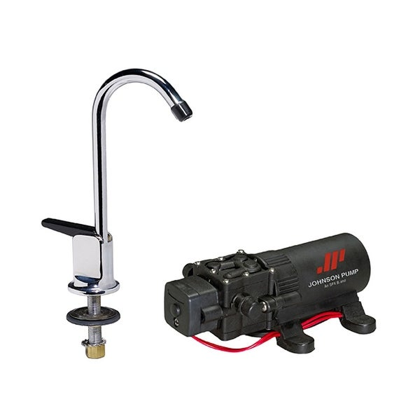 Faucet/1.1Gph Pump Combo 12V