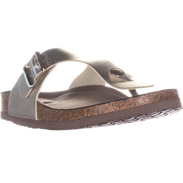 ca7f59ce61db9 Shop madden girl Boise T-Strap Thong Comfort Slide Sandals