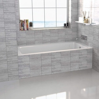 Link to Fine Fixtures 60-inch Alcove Bathtub with Right Side Fixed Tile Flange Similar Items in Bathtubs