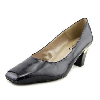 J. Renee J0003 Women Square Toe Synthetic Blue Heels