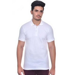 Men's 100% Cotton Short Sleeve Pique Polo Shirt (5 options available)
