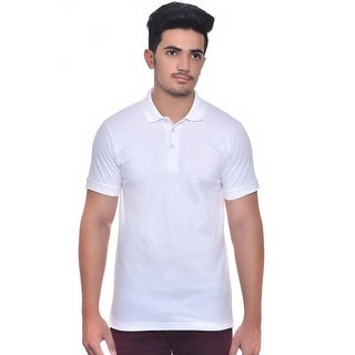 Men's 100% Cotton Short Sleeve Pique Polo Shirt