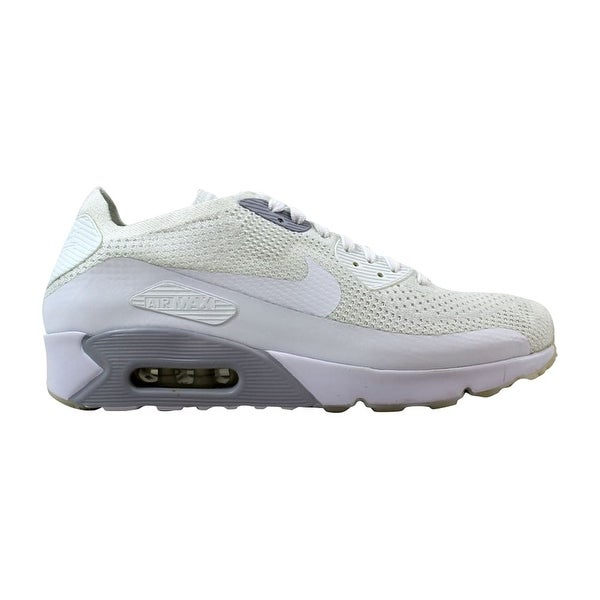 check out befd4 6d4be Nike Air Max 90 Ultra 2.0 Flyknit White White-Pure Platinum 875943-101