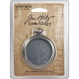 "Idea-Ology Pocket Watch Frame 2""-Antique Nickel"