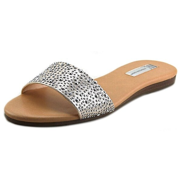 INC International Concepts Zinaa2 Open Toe Canvas Slides Sandal