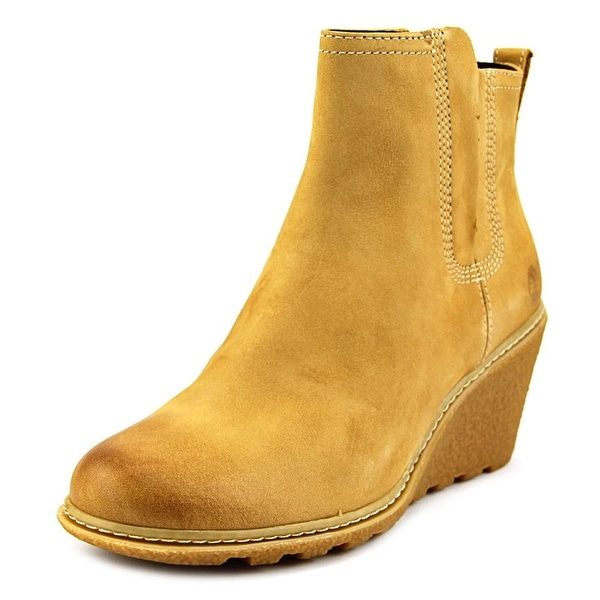 Timberland Amston Chelsea Women Round Toe Suede Ankle Boot