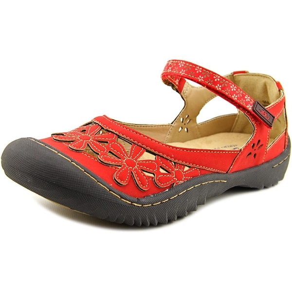 JBU by Jambu Wildflower Red Flats