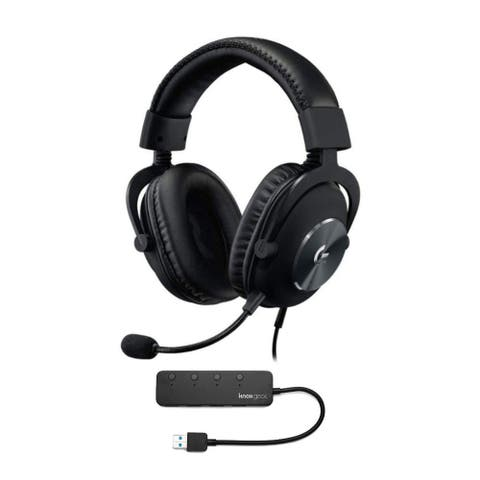 Logitech G Pro X Gaming Headset with Blue VOICE Technology and USB Hub