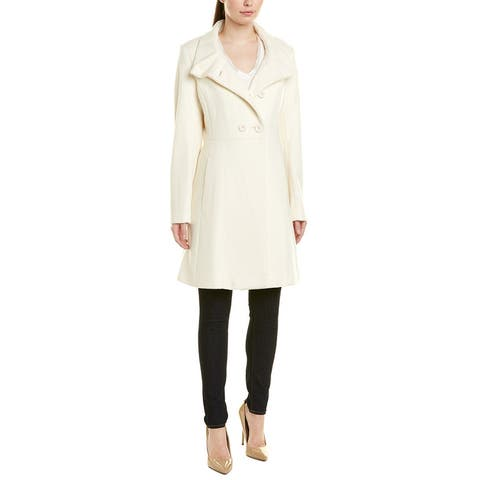 Trina Turk Kate Wool-Blend Coat
