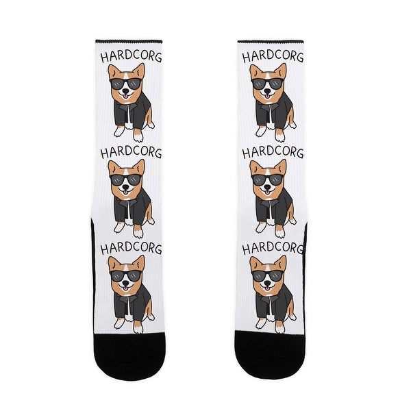 LookHUMAN Hardcorg US Size 7-13 Socks