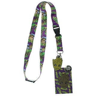 Guardians of The Galaxy Groot Lanyard with Breakaway Key Strap - S