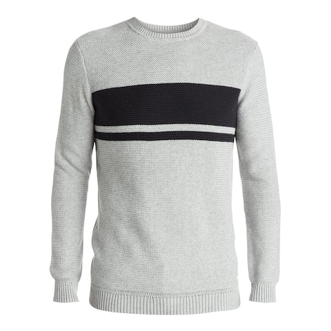 Quiksilver Mens Invasion Stripes Pullover Sweater
