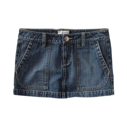 Aeropostale Womens Jeankirt Mini Skirt