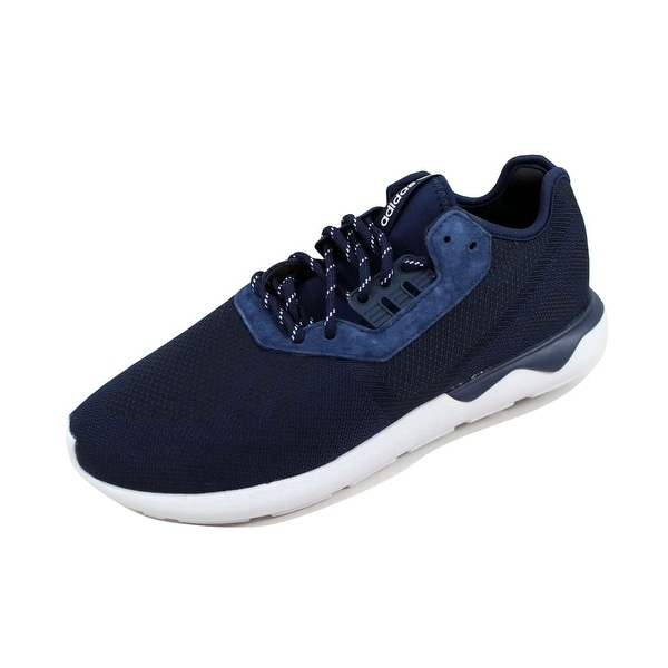 Adidas Men's Tubular Runner Weave Navy Blue/Navy Blue-White B25596