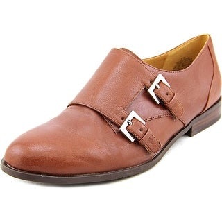 Nine West Toastie Women Round Toe Leather Tan Loafer