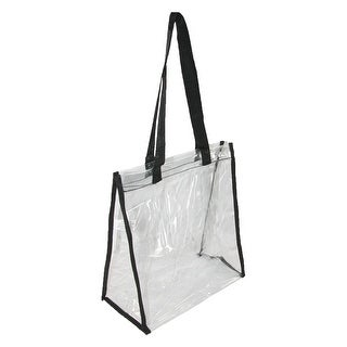 Liberty Bags Clear Double Handle Stadium Friendly Tote Bag - One size
