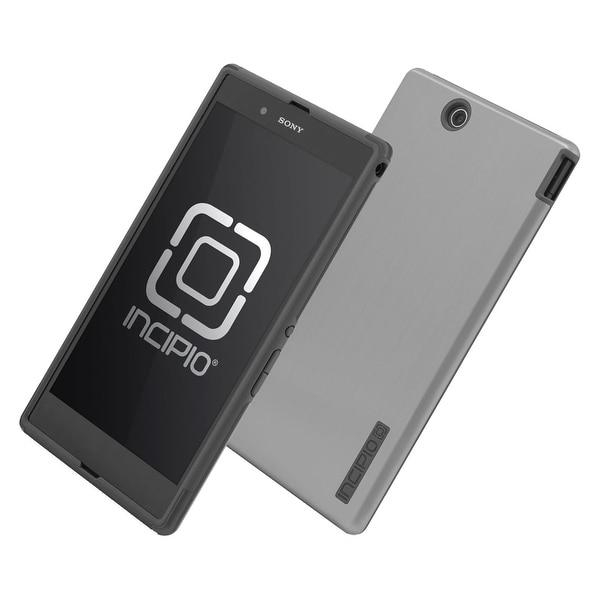 Incipio DualPro Shine Case for Xperia Z Ultra  (Silver/Graphite Gray)