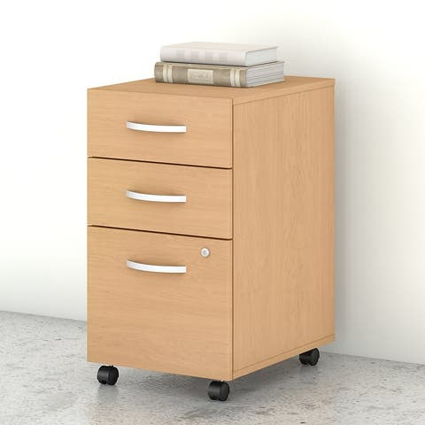 Studio C 3-Drawer Mobile File Cabinet by Bush Business Furniture