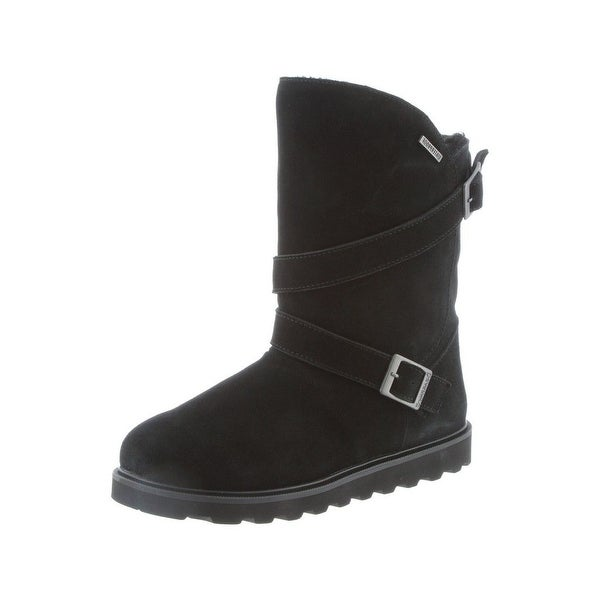 Bearpaw Boots Womens Prim II Waterproof Hi Lo Buckle Strap