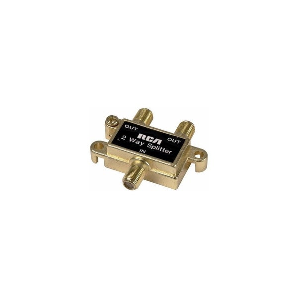 GE/RCA RCAVH47RG 2-Way Coaxial Cable Splitter